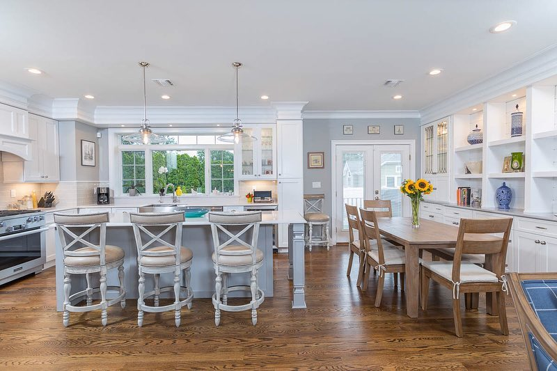 Kitchen Improvements and Wood Flooring Upgrade from JDP Designs